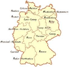map of gemany germany map