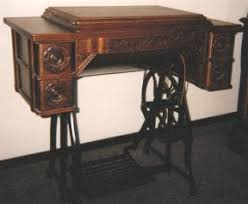 Antique Singer Sewing Machine And Cabinet Restoring Sewing Cabinets Illustrated