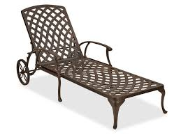 Cast Aluminum Lounge Chairs Chaise Lounges Chair King