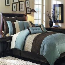 size comforters king size blue hudson luxury 8 comforter set