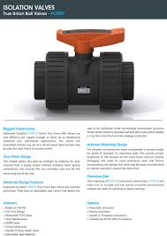 hydroseal valves