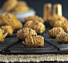 baby hasselback potatoes simply sated