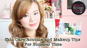 summer skin care routine and makeup tips oily skin beautyboundasia bbachallenge1