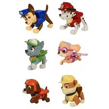 paw patrol boxed 6 figures pup buddies characters spin master