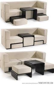 Just Take My Money Space Saving Modular Sofa And Ottoman Table - Modular sofa design