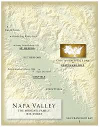 Map From San Francisco To Napa Valley by Continuum Estate