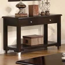 accent sofa table rich dark brown sofa table console sofa tables