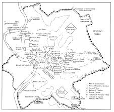 Italy City Map by Map Of The City Of Rome Caesar Pinterest Rome Ancient Rome