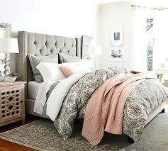 Upholstered Headboard Bed Frame High Headboard Beds High Headboard Bed Frame Headboards King Size