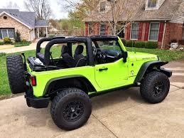 wrangler jeep green my wife u0027s 2013 gecko green jeep wrangler rubicon love it jeeps