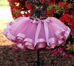 ribbon tutu mauve ribbon tutu birthday flower girl toddler infant ribbon