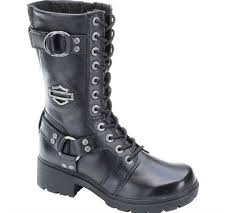 womens boots harley davidson harley davidson s eda 9 inch boots inside zipper lace