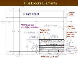 cad title block template eliolera com