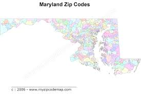 maryland map free maryland zip code maps free extraordinary map of codes to world maps