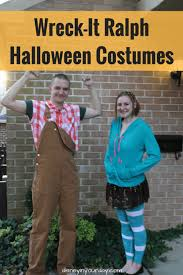 Wreck It Ralph Costume Wreck It Ralph And Vanellope Halloween Costumes Disney In Your Day