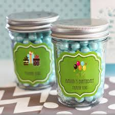 jar party favors birthday mini jars kid s personalized party favors kids