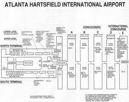 atlanta international airport map atlanta airport in the 1990s skies