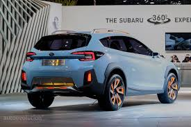 blue subaru 2017 2017 subaru xv crosstrek previewed by this rugged concept in