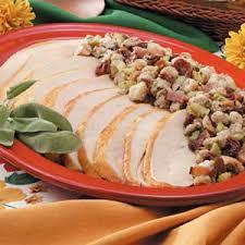 turkey with bacon cherry recipe taste of home