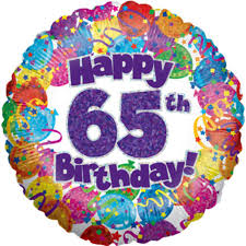 40th birthday balloons delivered happy 65th birthday holographic foil balloon 18 decoration