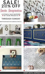 stencils for home decor stencil your home decor become an insta inspiration royal