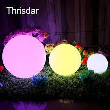 floating pool ball lights rechargeable rgb led illuminated furniture table ls outdoor led