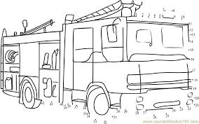 coloring fascinating dot vehicles connect dots