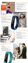 Colors For Sleep Id115hr Moniteur De Rythme Cardiaque Smart Bracelet Tracker De