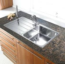 Countertop Kitchen Sink Countertop Sink Kitchen Everything But The Cabinets Design