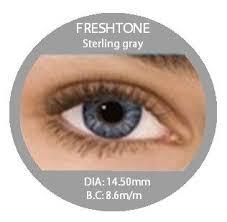 prescription colored contacts fresh tone sterling gray