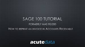 sage 100 archives acute data systems