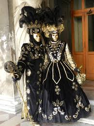 gothic masked couple venice carnival u0027s and masks of color
