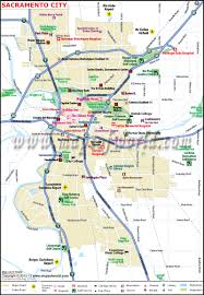 Illinois Map Of Cities by Sacramento City Map Ca The Capital Of California