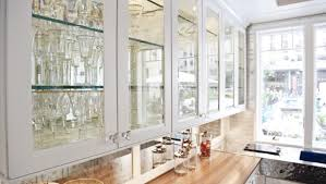 Kitchen Cabinet Doors With Glass Fronts engrossing kitchen wall cabinet with glass doors tags kitchen
