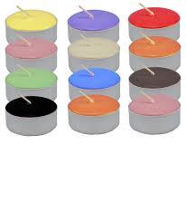 Tea Light Candles Spiritual Supplies Tea Light Candles Unscented Assorted Dozen