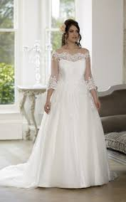 wedding dresses for plus size women discounted sleeve plus size wedding dresses june bridals