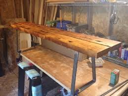 bench order should i order custom metal table legs or a standard size