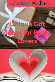 Unique Gifts by Unique Gift Ideas For Book Lovers Who Are The Bookworms In Your