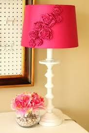 11 sweet diy shabby chic lamps and lights shelterness