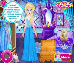 elsa breaks up with jack frost games