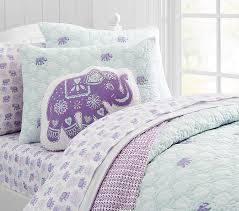 Pottery Barn Kids Twin Quilt Bedding Beautiful Elephant Bedding Stella Quilted Ojpg Elephant