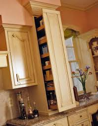 pullout kitchen storage ideas counter space pantry and refrigerator