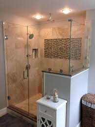 heavy glass shower door residential ne glass and mirrorne glass and mirror