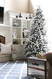 Snow Flocking For Christmas Trees by King Flock Christmas Tree King Of Christmas