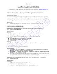 resume objectives for business resume objective examples bank manager frizzigame objective examples branch manager frizzigame