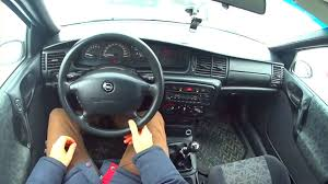 opel vectra 2017 1997 opel vectra b 1 8 city driving youtube