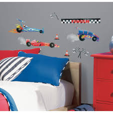 roommates anthony morrow race car peel and stick wall decal anthony morrow race car peel and stick wall decal