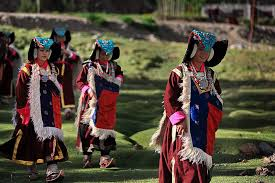 ladakh clothing traditional costume of ladakh a photo from jammu and kashmir
