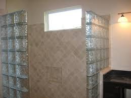 handicap assessable shower glass block handicap assessable shower