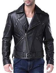 Rugged Clothing Airborne Leathers Men U0027s Motorcycle Rugged Cow Leather Jacket At